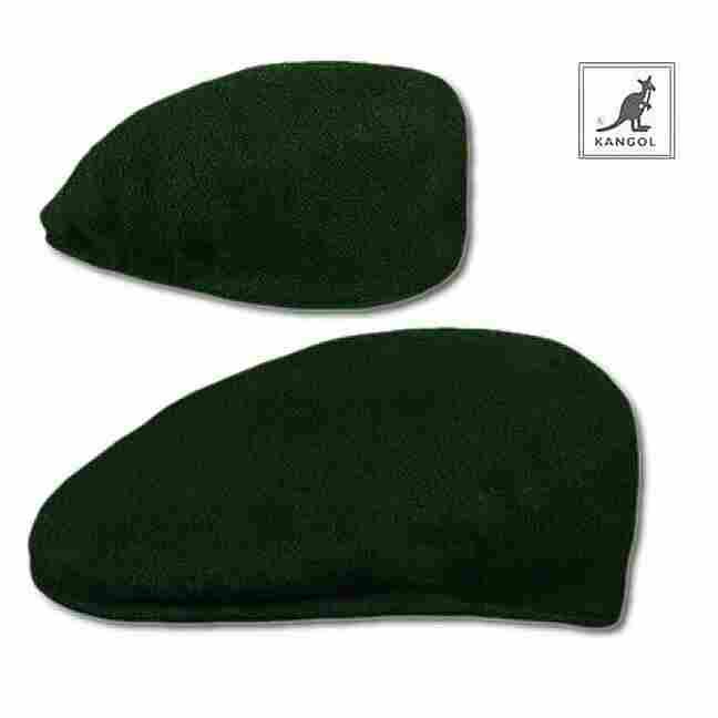 Hip Hop Klamotten Shop Kangol Schirmmütze Green Edition