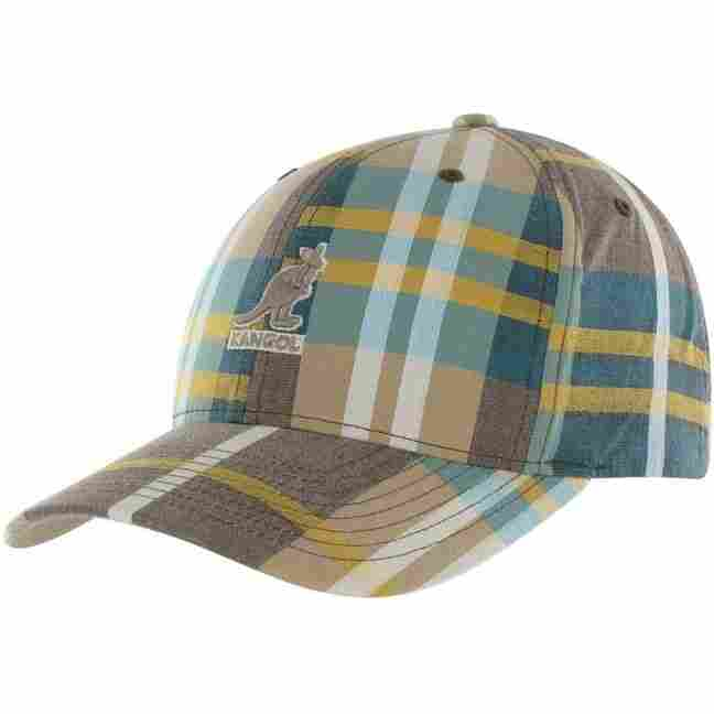 Hip Hop Klamotten Shop Kangol Cotton Plaid Baseballcap